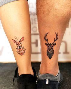 Couple Tattoos Unique Meaningful, Romantic Couples Tattoos, Couple Tattoos Love, Couples Tattoo Designs, Small Tattoos For Couples, Couple Tattoo Ideas, Tattoos For Lovers, Bff Tattoos, Family Tattoos