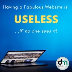 Having a Fabulous Website is USELESS ...IF no one see it! unsplash/dufferinmedia www.dufferinemedia.com www.sarahclarke.biz Online Marketing, Social Media Marketing, Digital Marketing, Influencer Marketing, Management, Branding, Website, Brand Management, Identity Branding