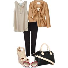 A fashion look from September 2013 featuring 3.1 Phillip Lim tops, 3.1 Phillip Lim jackets and Wallis capris. Browse and shop related looks.