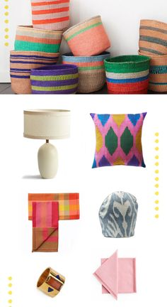 Beautiful handmade goods from Far and Wide Collective.