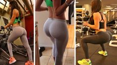 An alternate to squats for those with bad knees. Excellent butt move!