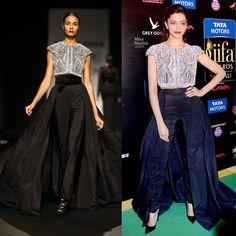 Deepika Padukone wears Naeem Khan  @ IIFA Awards 2013