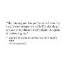 And he said time heals..