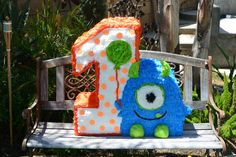 Little+Monster+Custom+Hand+Made+Piñata+little+by+angelaspinatas