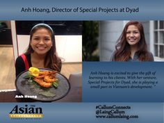 Anh Hoang, Director of Special Projects at Dyad