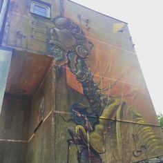 Lump #mural #streetart #contemporaryart #trafficdesignfest #Gdynia