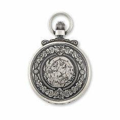 Charles Hubert Antique Chrome Finish Horses Pocket Watch Jewelry Adviser Charles Hubert Watches. $147.94. Save 60%!