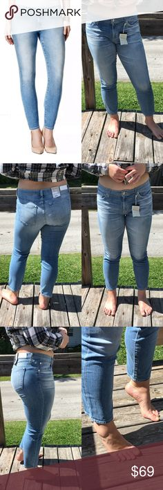 🆕List! Big Star Slim Skinny Ankle Jeans! NEW! Light wash. Ankle length. Mid-rise. 99% cotton/1% spandex. Size 32. Inseam 26. New with tags. Big Star Jeans Skinny