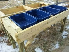 Want to garden without the bending and kneeling. This is an economical answer to that problem. It also eliminates some pests like gophers and sub soil insects that hibernate in your normal garden just waiting for you to feed them in the spring.