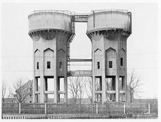 Bernd and Hilla Becher, Doppelwasserturm, Dortmund, D, 1972, Deutsche Bank Collection. © Becher, Düsseldorf.