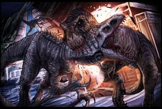 jurassiraptor:  Clash of the Titans by SeanSumagaysay