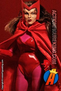 Scarlet Witch Custom Sixth-Scale Action Figure