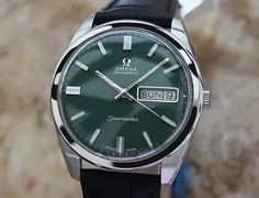Omega Seamaster Men's Swiss Made Calibre 750 Automatic 1970s Swiss Watch 36mm