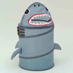 shark toddler bedding   Shark Laundry Hamper - Kids Decor at Kids Furniture Mart