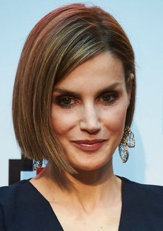 Queen Letizia of Spain attended the Barco de Vapor and Gran Angular Awards ceremony on April 21, 2015 in Madrid, Spain.