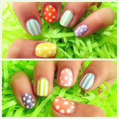 my easter nails! <3