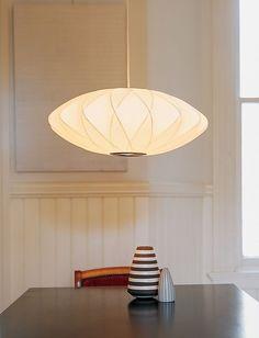 Nelson™ Crisscross Saucer Pendant Lamp 25D 375-