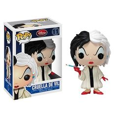 101 Dalmations Cruella De Vil Pop! Disney Pop! Vinyl Figure