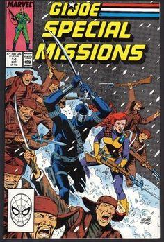 GI Joe Special Missions #14 Comic Book 1988