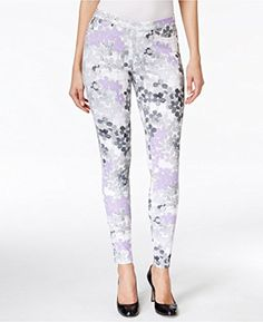 Hue Faded Floral Original Denim Leggings -- Awesome products selected by Anna Churchill