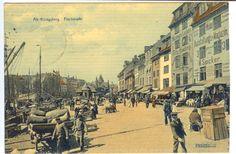Alte Ansichtskarte um 1910, Alt- Königsberg, Fischmarkt