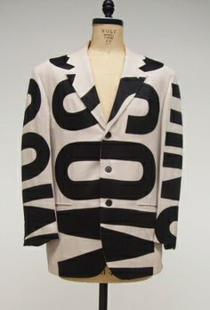 Cheap and Chic by Moschino, men's jacket, 1992, Collection of The Museum at FIT, 2005.40.10.