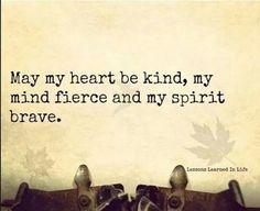 May my heart