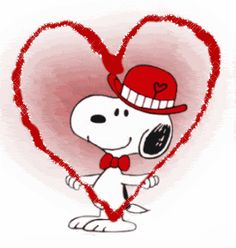 Valentine's Day -Snoopy love :: snoopy picture by - Photobucket