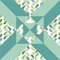 quilt block Northcott fabric blog