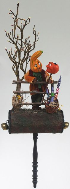 Halloween Characters by Sharon Wittke on Etsy