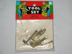 Vtg Tool Set Plastic Dime Store Hong Kong | eBay
