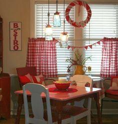 A Farmhouse Themed Christmas/ Absolutely LOVE the decorating ideas!