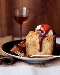 Apple Cake with Toffee Crust Recipe on Food & Wine