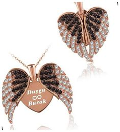 Material: 925 Sterling SilverUsed Stone: Zircon Product Dimension: 2.1 x 2.6 cmColor: Rose Gold Plated Chain: 45 cmProduct Box: Your product is sent to you with a special gift box. #forgirlfriend #love #personalized christmas cookies packaging Personalized Wings of Love Silver Necklace 33+ Christmas Cookies Packaging 2020 Teenage Girl Gifts Christmas, Christmas Gifts For Coworkers, Christmas Gift Baskets, Christmas Tree Themes, Christmas Crafts For Kids, Gifts For Dad, Gifts For Women, Christmas Lights, Christmas Nails