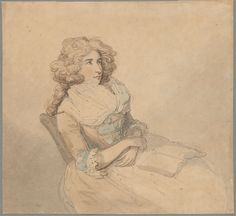 Thomas Rowlandson | 1756-1827  | Portrait of Elizabeth Farren, Actress, later Countess of Derby (1759-1829) | The Morgan Library & Museum