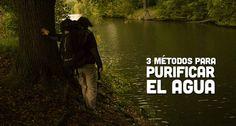 Cómo purificar el agua: Solución explicada Mochileros.org  #outdoor #camping #mochileros #viajeros #viajes #agua #salud