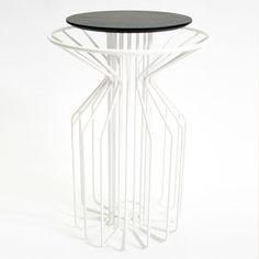 Tisch Amarant II Eiche Weiß