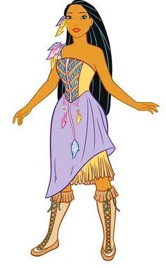 Pocahontas's summer dress