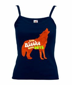 From Alaska with Love Vest Top