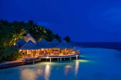 Baros_Cayenne_Twilight #voyagewave #themaldives → www.voyagewave.com