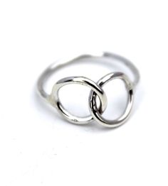Together Sterling Silver Link Ring by Lumo on Scoutmob Shoppe. There's more than a little symbolism in this elegant silver ring.