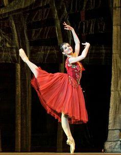 Alexandra Timofeeva, La Esmeralda, The Kremlin Ballet, September 19, 2014. Photo by Valeria Komissarova.