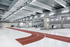 Architecture and design news from CLAD - Japan embraces active design with running track-themed airport terminal ahead of 2020 Olympics