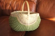 white oak egg basket - Billy Ray Sims