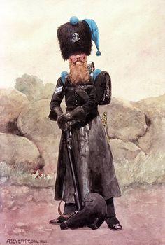 Сапёр-капрал Лейб-батальона. Брауншвейг, 1822 г.