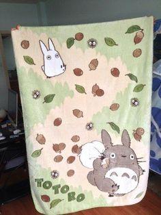 Studio Ghibli My Neighbor Totoro Studio Soft Blanket Single Japan Import L-Zone Totoro Nursery, Studio Ghibli Movies, My Neighbor Totoro, Kawaii Shop, Hayao Miyazaki, Soft Blankets, Future Baby, Baby Love, Baby Kids