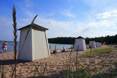 Summer by the Baltic Sea in Hanko, Finland