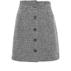 Women's Topshop Frill Waist Boucle Skirt (195 PEN) ❤ liked on Polyvore featuring skirts, slimming skirts, frilled skirt, flounce skirt, ruffle skirt and print skirt