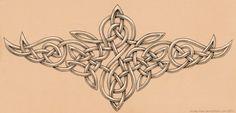 deviantART: Celtic Knotwork Tattoo by mossy tree