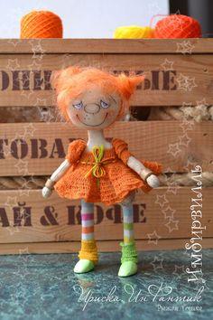Коллекционные куклы ручной работы. То, что делает жизнь сладкой. Инфантик Ириска.. Рыжая Тошка  из Имбирвилля. Ярмарка Мастеров.
